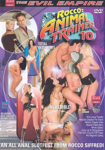 Rocco: Animal Trainer 10 from Evil Angel: Rocco Siffredi front cover