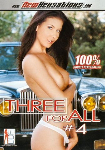 Three For All 4 from New Sensations front cover