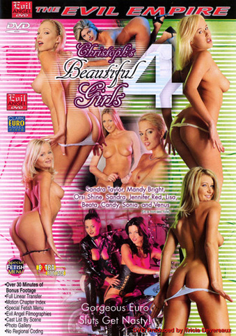 Beautiful Girls 4 from Evil Angel: Christoph Clark front cover