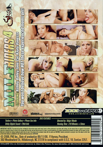 MILF Riders 4 from Adam & Eve back cover