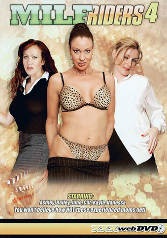 MILF Riders 4 from Adam & Eve front cover