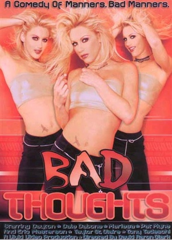 Bad Thoughts from Vivid front cover