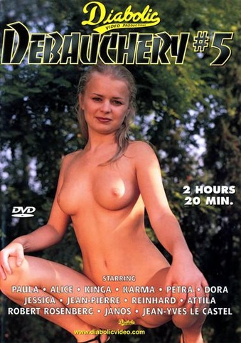 Debauchery 5 from Diabolic front cover