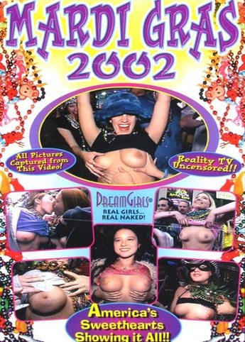 Mardi Gras 2002 from DreamGirls front cover
