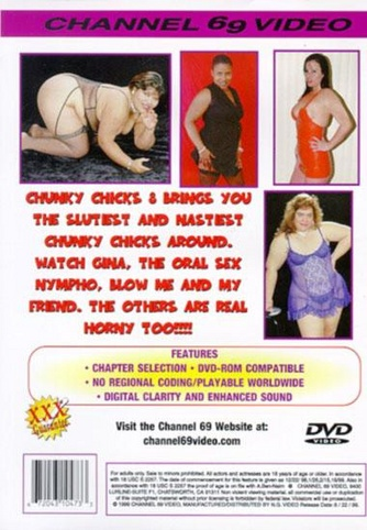 Chunky Chicks 8 from Channel 69 back cover