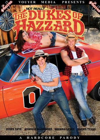 Not Really The Dukes Of Hazzard from Vouyer Media front cover