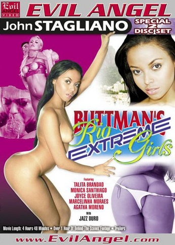 Buttman's Rio Extreme Girls from Evil Angel: Buttman front cover