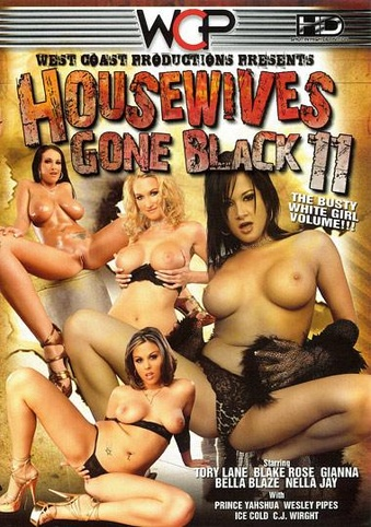 Housewives Gone Black 11 from West Coast front cover