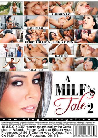 A MILF's Tale 2 from Elegant Angel back cover