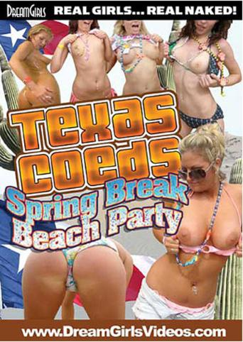 Texas Coeds Spring Break Beach Parties