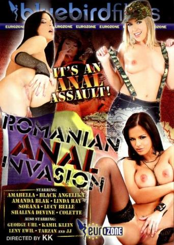 Romanian Anal Invasion from Bluebird Films front cover