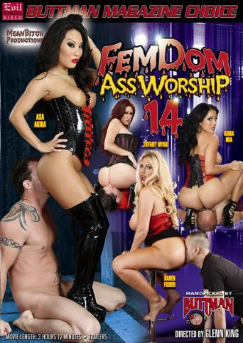 Femdom Ass Worship 14 from Evil Angel front cover