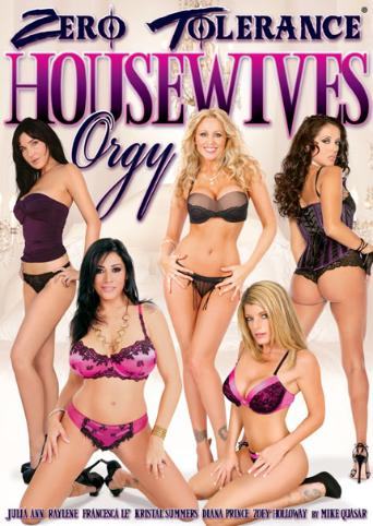 Housewives Orgy from Zero Tolerance front cover