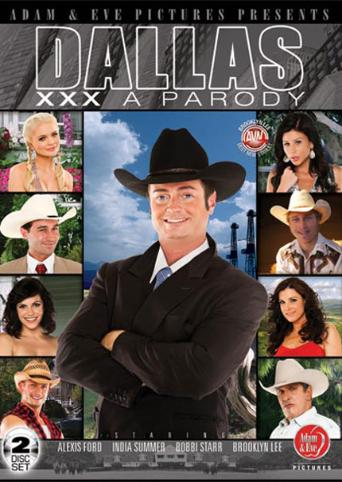 Dallas A XXX Parody from Adam & Eve front cover