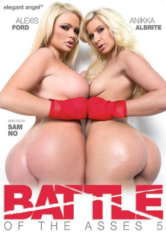 Battle Of The Asses 5 from Elegant Angel front cover