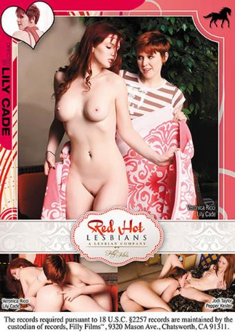 Red Hot Lesbians from Filly Films back cover
