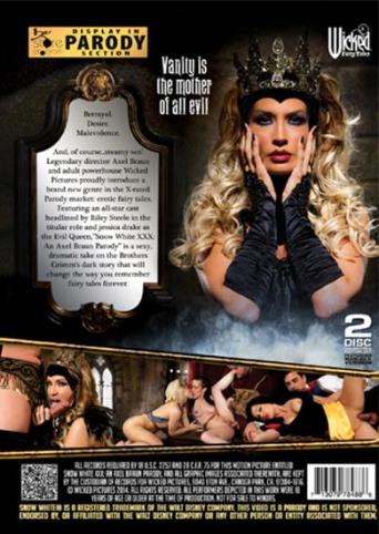 Snow White An Axel Braun Parody from Wicked back cover