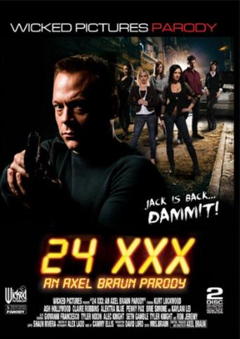 24 XXX An Axel Braun Parody from Wicked front cover