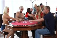 Strip Poker Orgy Scene 1