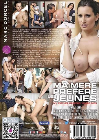 My Mother Prefers Young Men from Marc Dorcel back cover