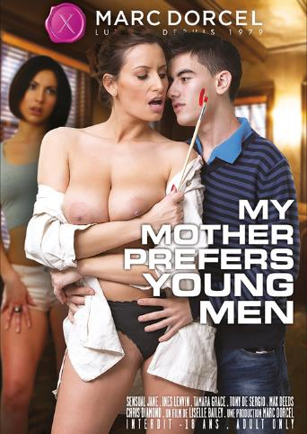 My Mother Prefers Young Men from Marc Dorcel front cover
