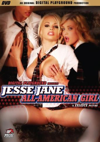 Jesse Jane All American Girl from Digital Playground front cover