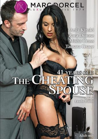 41 Years Old The Cheating Spouse from Marc Dorcel front cover