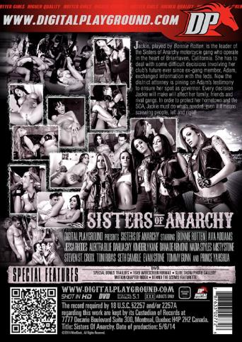 Sisters Of Anarchy from Digital Playground back cover