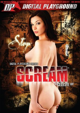 Stoya Scream from Digital Playground front cover