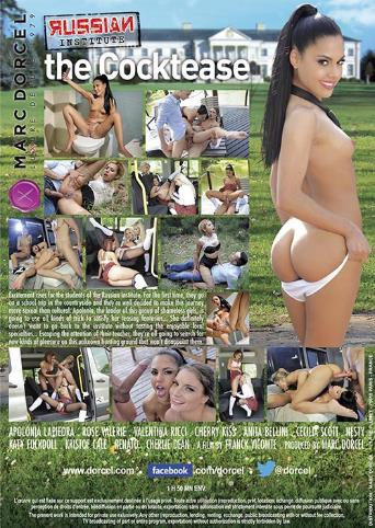 Russian Institute 23 The Cocktease from Marc Dorcel back cover