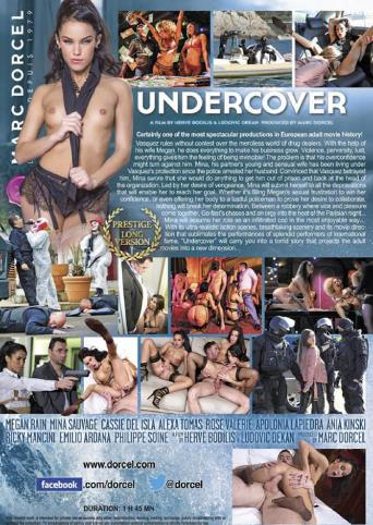 Undercover from Marc Dorcel back cover