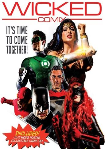 Justice League XXX An Axel Braun Parody from Wicked back cover