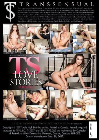 Ts Love Stories 2 from Transsensual back cover