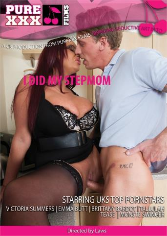 I Did My Stepmom from Pure XXX Films front cover