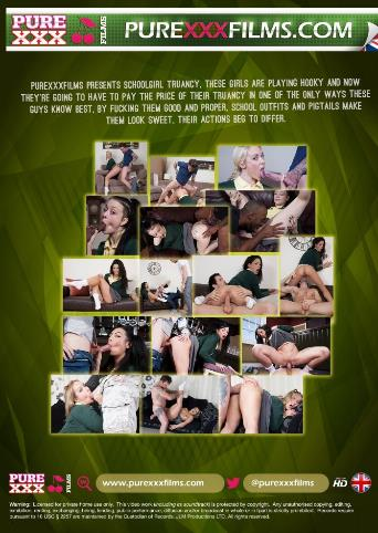 Schoolgirl Truancy from Pure XXX Films back cover