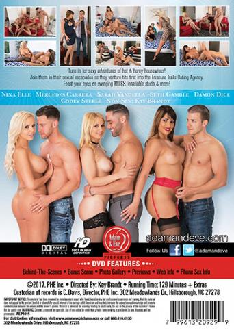Hot Wives And Their Dirty Desires from Adam & Eve back cover