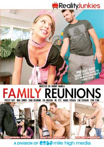 Family Reunions from Reality Junkies front cover