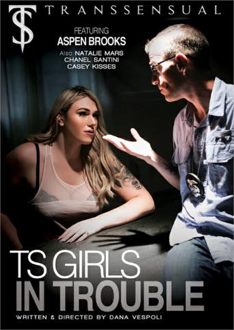 Ts Girls In Trouble from Transsensual front cover