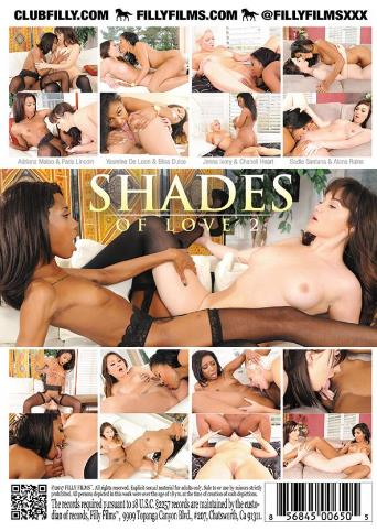 Shades Of Love 2 from Filly Films back cover