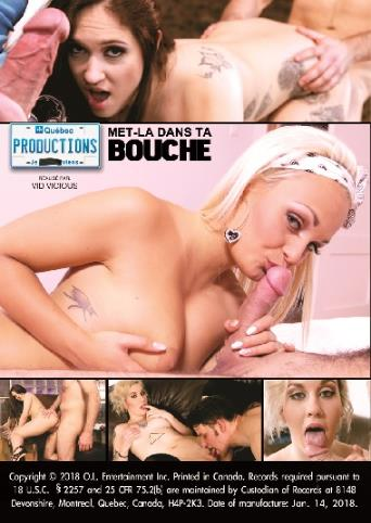 Met-La Dans Ta Bouche from My Quebec Productions back cover
