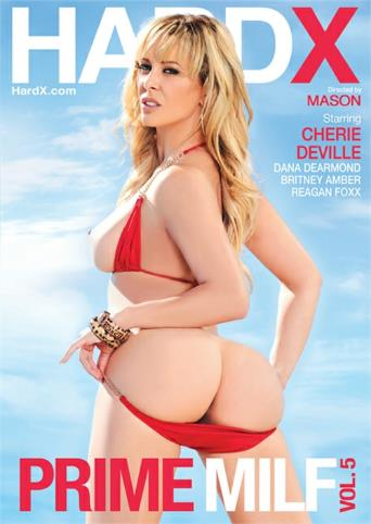 Prime MILF 5 from Hard X front cover
