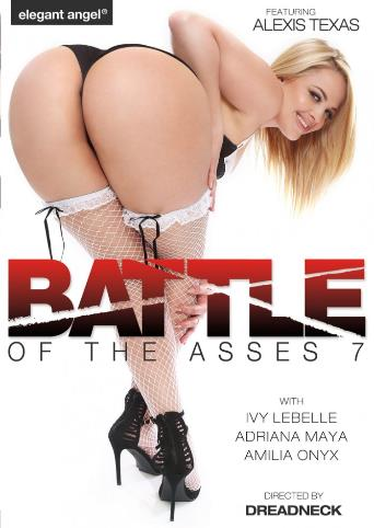 Battle Of The Asses 7 from Elegant Angel front cover