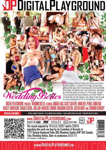 Wedding Belles from Digital Playground back cover