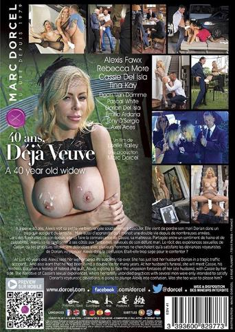 A 40 Year Old Widow from Marc Dorcel back cover