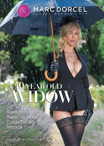 A 40 Year Old Widow from Marc Dorcel front cover