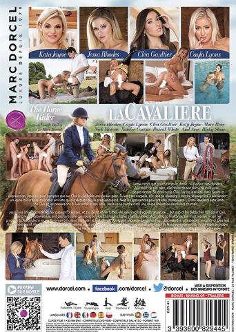 The Horse Rider from Marc Dorcel back cover