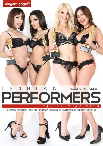 Lesbian Performers Of The Year 2018 from Elegant Angel front cover