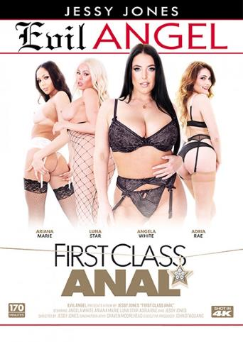 First Class Anal from Evil Angel front cover