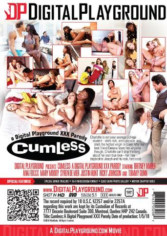 Cumless A XXX Parody from Digital Playground back cover