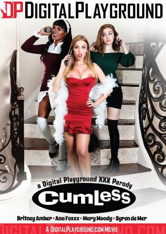 Cumless A XXX Parody from Digital Playground front cover